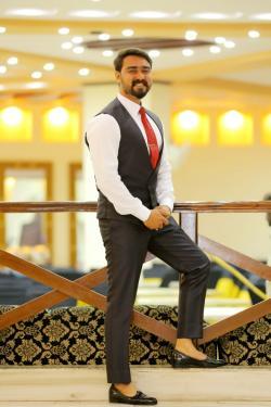 Husnain Khalid model in Sialkot