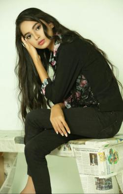 Umaima Shakeel model in Karachi