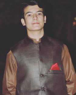 Musawir Afridi model in Peshawar