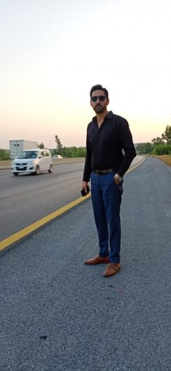 Kamran Razzaq model in Islamabad