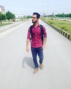 Sahibzada Mudassir Haleem model in Peshawar